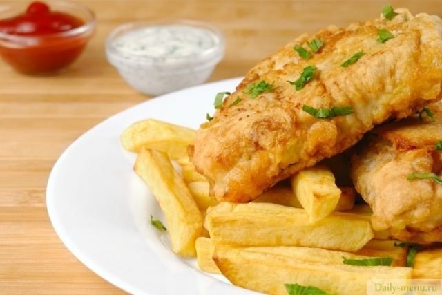 "Фото: <a href=""https://ru.depositphotos.com/5395446/stock-photo-fish-and-chips.html"">Depositphotos</a>"